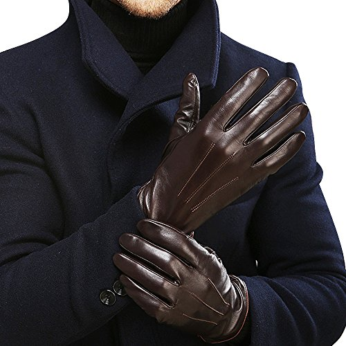 Luxury Men's Touchscreen Texting Winter Italian