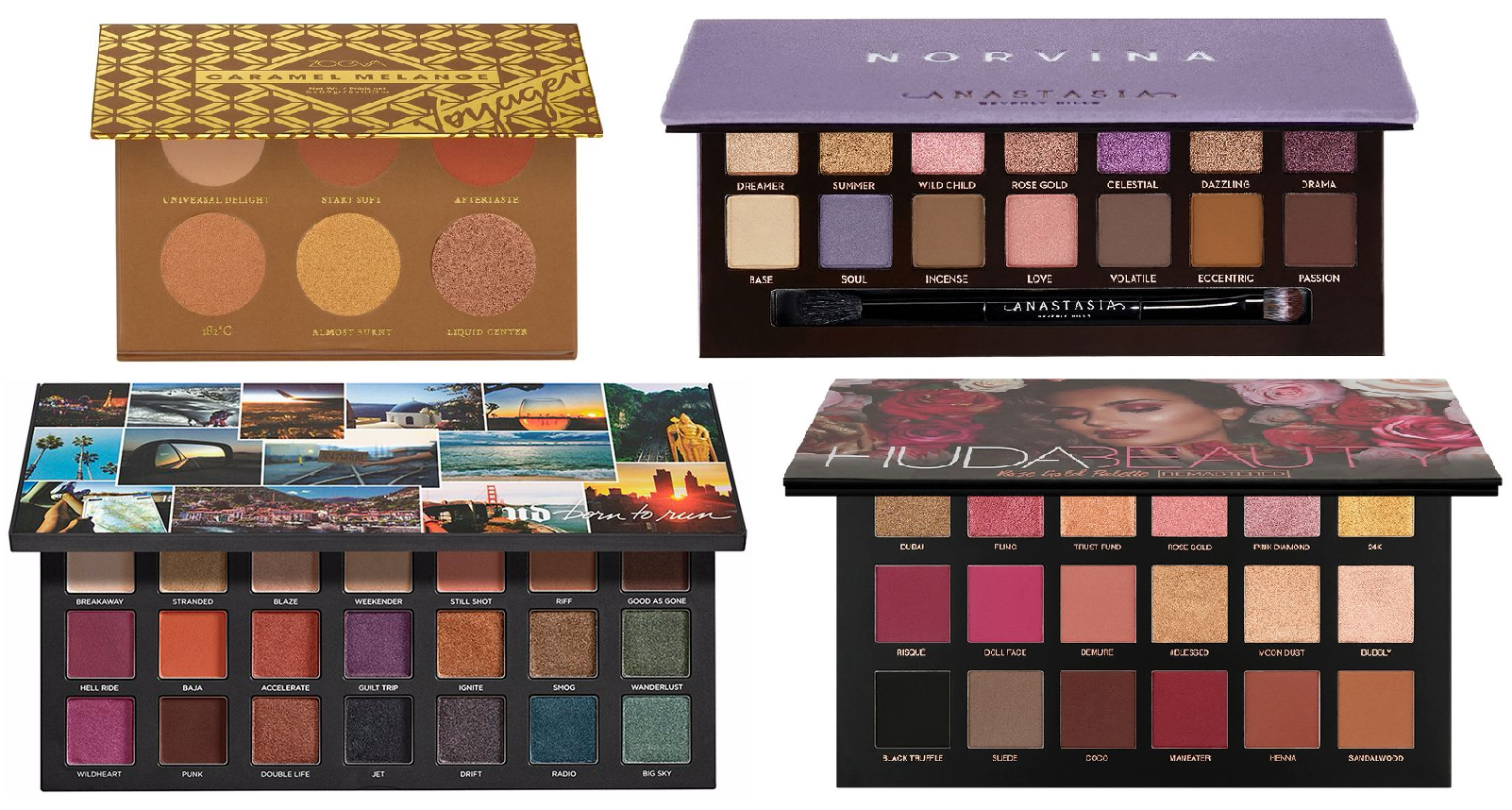 Top 10 Best Makeup Palettes For Blue Eye 2020 Review
