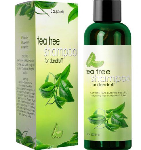 Pure Tea Tree Shampoo For Dandruff Reviews