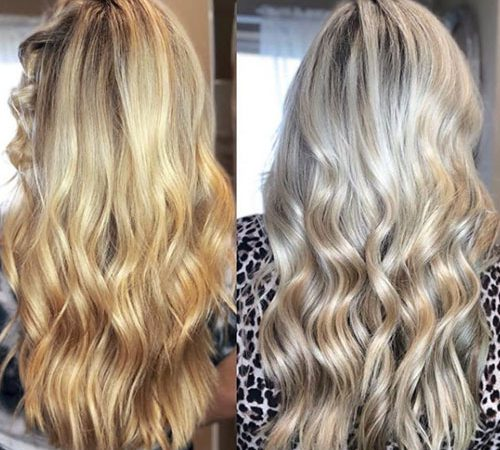 How to Get Platinum Blonde Hair from Golden Blonde